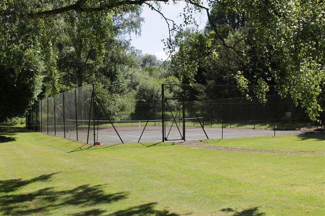 Tennis Court of Tidmarsh Grange, Tidmarsh, Reading RG8