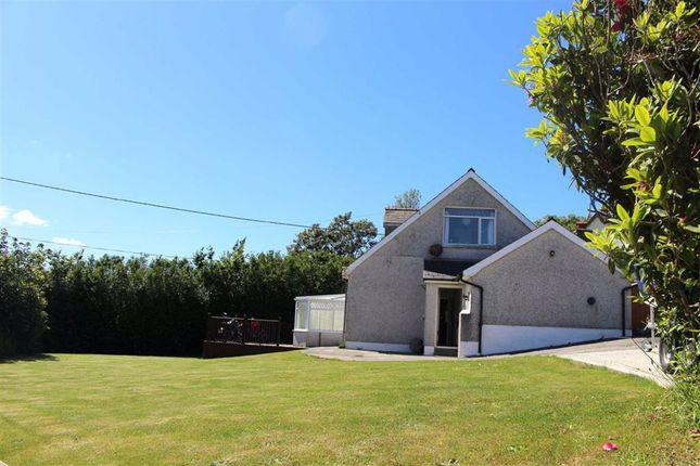 Thumbnail Detached bungalow for sale in The Beacon, Rosemarket, Milford Haven