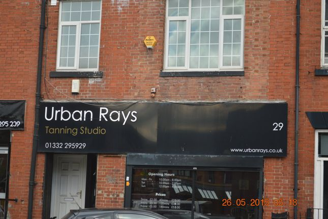 Thumbnail 2 bed flat to rent in Normanton Road, Derby