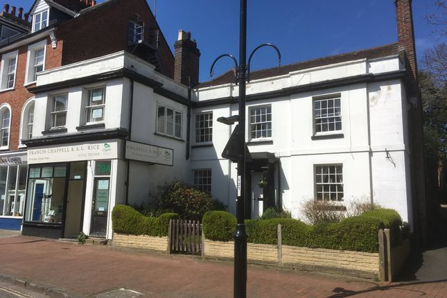 Thumbnail Office for sale in High Street, East Grinstead