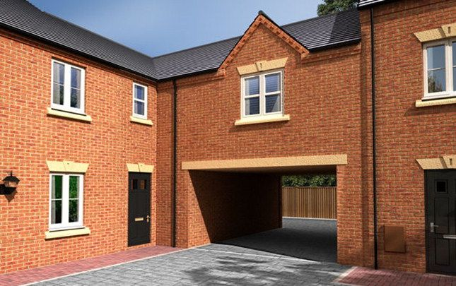 Thumbnail Mews house for sale in The Thorpe, Waterside Village, Lowfield Lane, St Helens