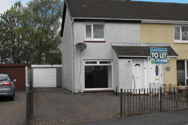 Thumbnail Semi-detached house to rent in Morriston Crescent, Renfrew