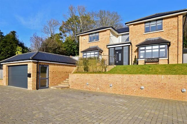 Thumbnail Detached house for sale in Park Road, Temple Ewell, Dover, Kent