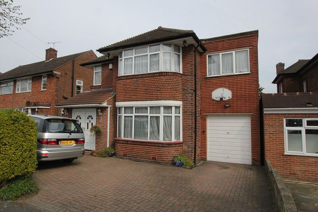 Thumbnail Detached house to rent in Wolmer Gardens, Edgware, Greater London.