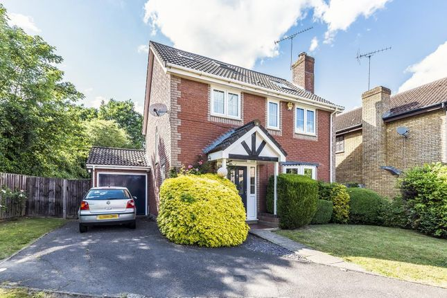 Thumbnail Detached house for sale in Woodward Close, Winnersh Farm