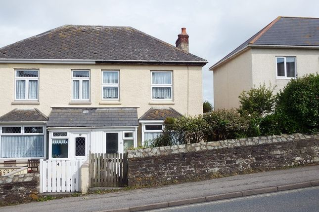 Thumbnail Semi-detached house for sale in St. Georges Hill, Perranporth