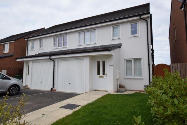 Thumbnail Semi-detached house for sale in De Havilland Way, Hartlepool, Durham