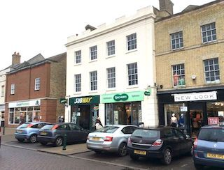 Thumbnail Retail premises for sale in Market Square, Biggleswade