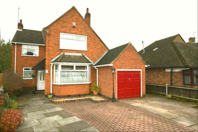Thumbnail Detached house for sale in Hallam Avenue, Birstall, Leicester