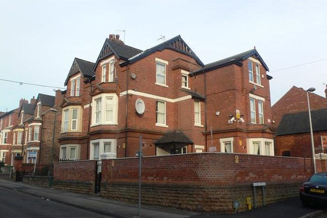 Thumbnail Town house to rent in Burford Road, Nottingham