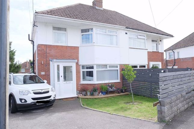 Thumbnail Semi-detached house for sale in Hawthorn Road, Barry, Vale Of Glamorgan