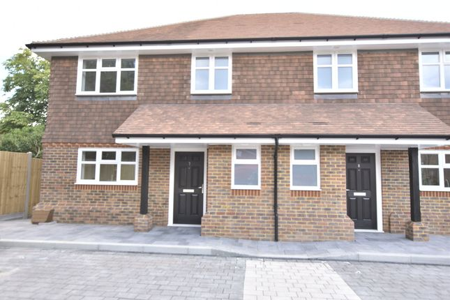 Thumbnail Semi-detached house for sale in Campbell Close, Hookwood, Horley, Surrey