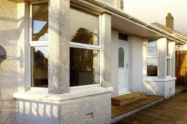 Thumbnail Detached bungalow to rent in St. Austell Road, St. Blazey Gate, Par