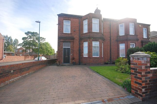 Thumbnail Semi-detached house for sale in Wood Terrace, Jarrow