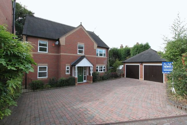 Thumbnail Detached house for sale in Thomas Ward Place, Hartshill, Stoke-On-Trent