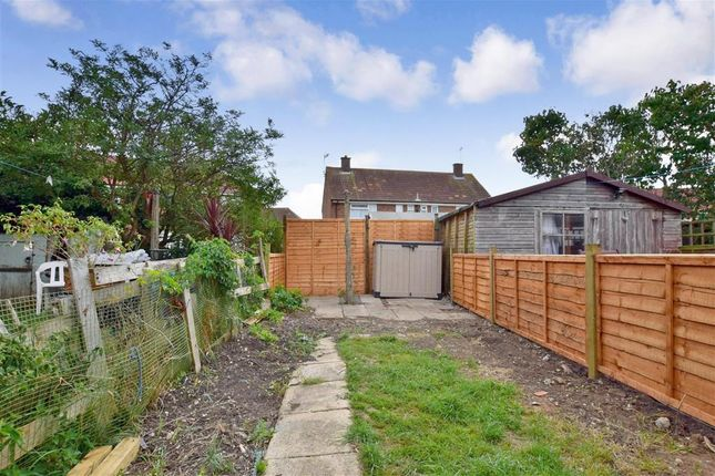Rear Garden of White Styles Road, Sompting, Lancing, West Sussex BN15