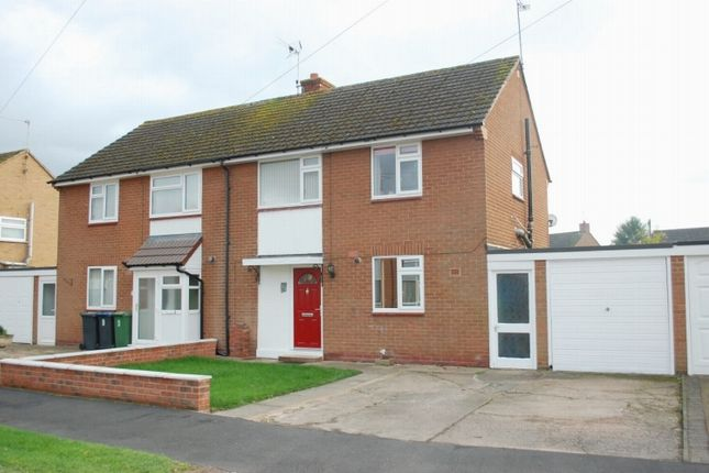Thumbnail Semi-detached house for sale in Meadow Road, Alcester