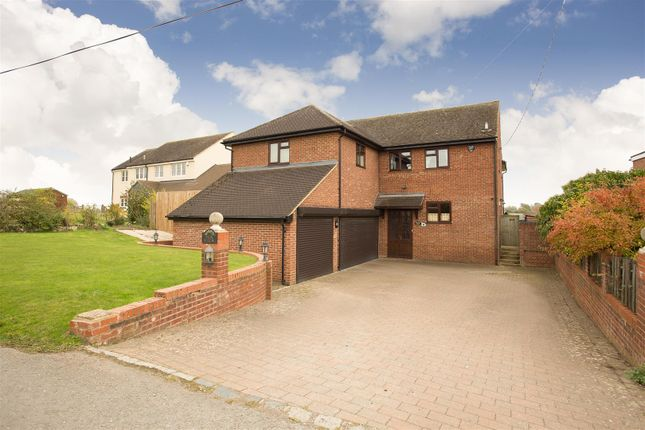 Thumbnail Detached house for sale in Lawn Hill, Edgcott, Aylesbury