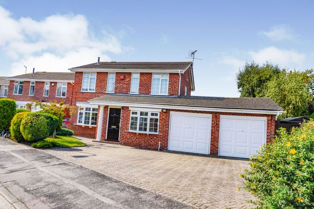 Thumbnail Detached house for sale in Hungarton Drive, Syston, Leicester