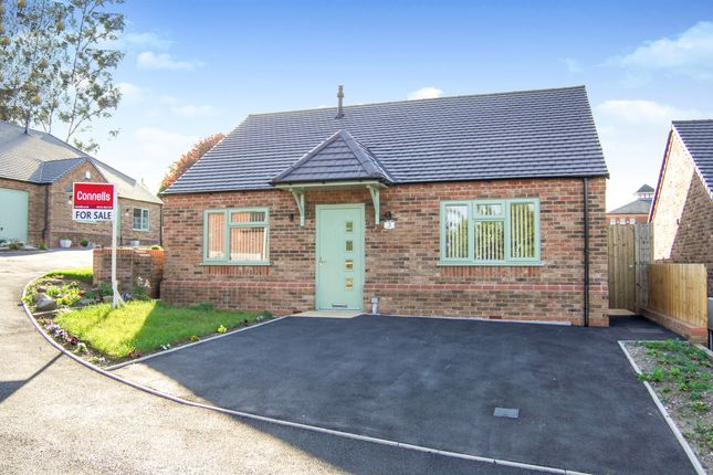 Thumbnail Detached bungalow for sale in Chandler Close, Hednesford, Cannock