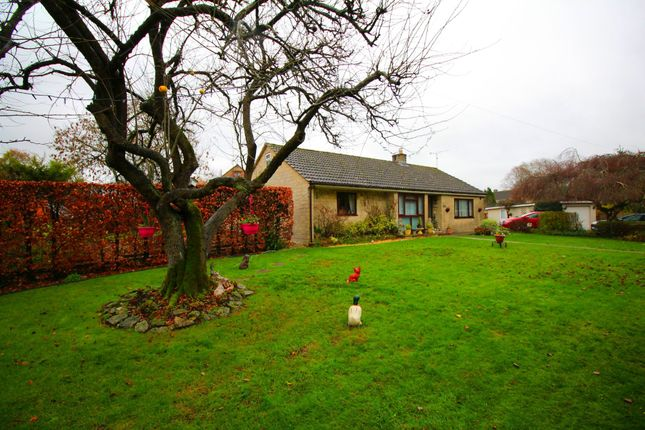 Thumbnail Detached bungalow for sale in Church Lane, Lower Seagry, Chippenham