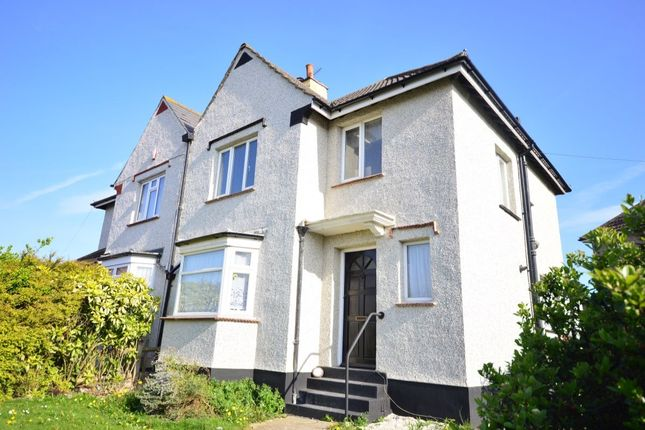 Thumbnail Semi-detached house to rent in Kitchener Avenue, Gravesend