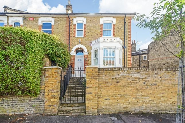 Thumbnail End terrace house for sale in Sundorne Road, London