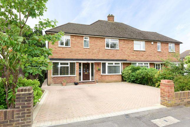 Thumbnail Semi-detached house to rent in Denton Grove, Walton-On-Thames