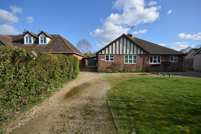 Thumbnail Semi-detached bungalow for sale in Moor Road, Langham, Colchester