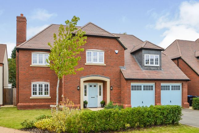 Thumbnail Detached house for sale in Boughton Close, Earl Gardens, Dunchurch