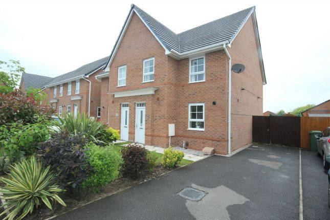 Thumbnail Semi-detached house for sale in Leighton Drive, St. Helens