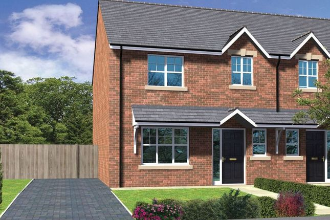 Thumbnail Semi-detached house for sale in Liberty Park, Hartlepool