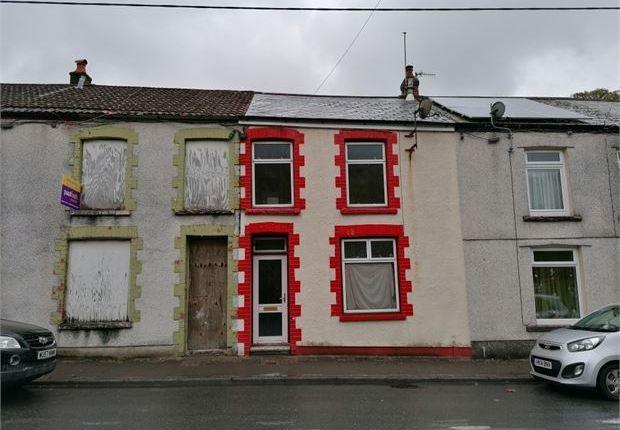 3 bed terraced house to rent in Brook Street, Bleanrhondda, Tynewydd, Rct. CF42