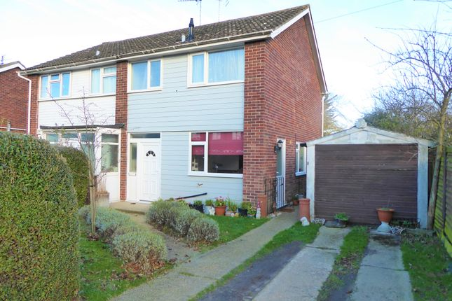 Thumbnail Semi-detached house for sale in Andrew Close, Leiston