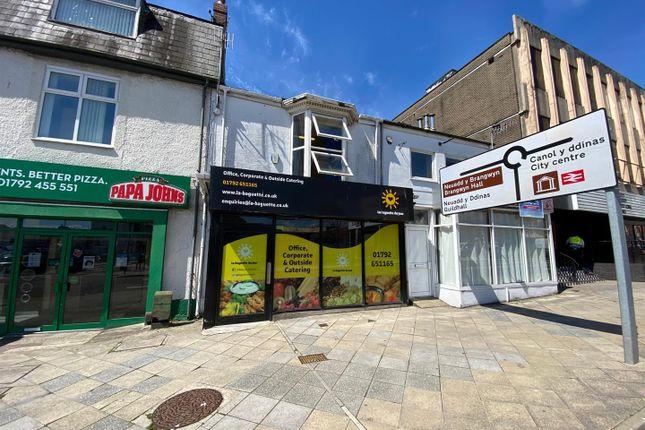 Thumbnail Retail premises for sale in Dillwyn Street, Swansea