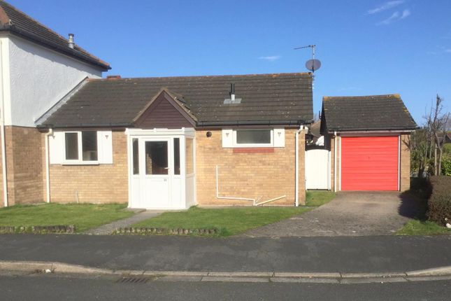 Thumbnail Semi-detached bungalow for sale in Liddell Drive, Llandudno