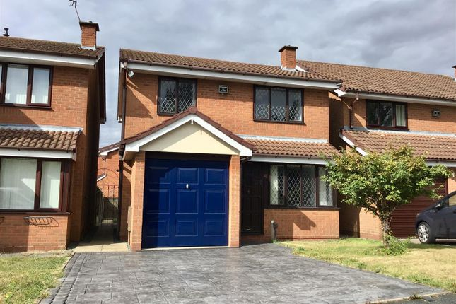 Thumbnail Detached house for sale in Rose Tree Close, The Rock, Telford