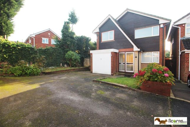 Thumbnail Detached house to rent in Redruth Close, Walsall