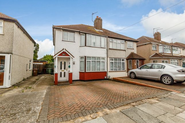 Thumbnail Semi-detached house for sale in Porthkerry Avenue, Welling, Kent