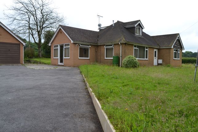 Thumbnail Detached bungalow to rent in Meadow Croft, Meadow Road, Barlaston, Stoke-On-Trent