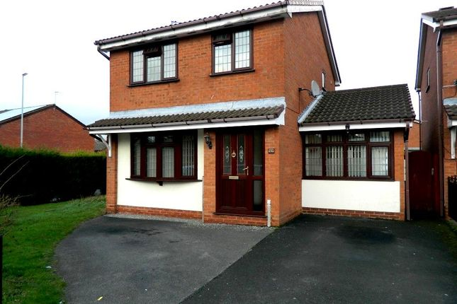 Thumbnail Detached house for sale in Foster Street, Darlaston, Wednesbury