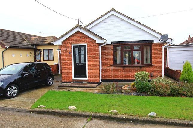 Thumbnail Detached bungalow for sale in Tilburg Road, Canvey Island, Essex