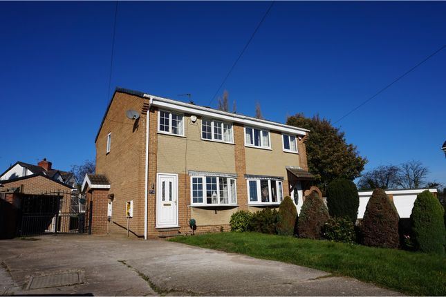 Thumbnail Semi-detached house for sale in Thruxton Close, Barnsley