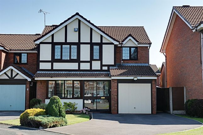 Thumbnail Detached house for sale in Haverhill Close, Turnberry, Bloxwich