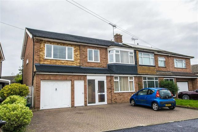 Thumbnail Semi-detached house for sale in Linwood Road, Ware, Hertfordshire