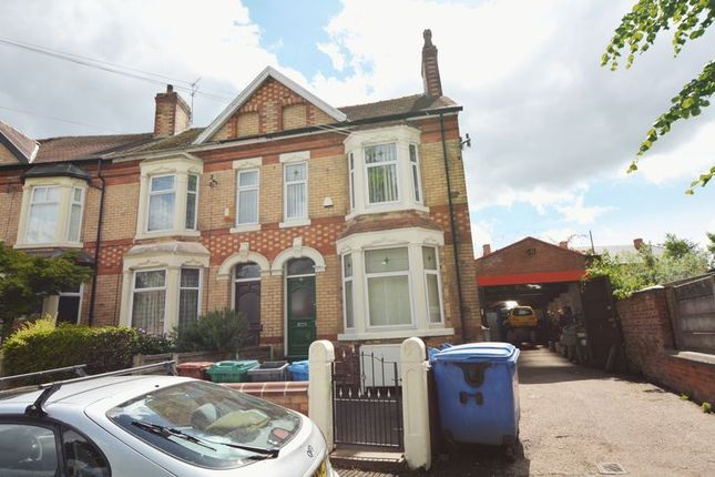 Thumbnail Semi-detached house for sale in Russell Road, Whalley Range, Manchester