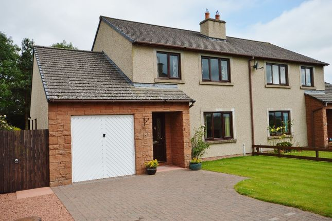 Thumbnail Semi-detached house for sale in Fallowfield, Cliburn, Penrith