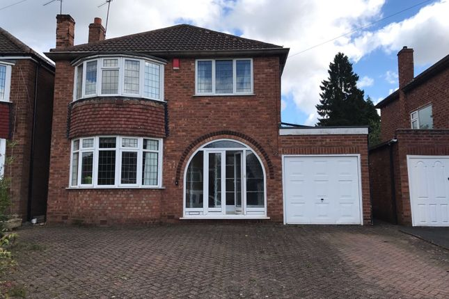 Thumbnail Detached house to rent in Woodside Close, Walsall, West Midlands