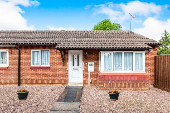 Thumbnail Semi-detached bungalow for sale in Mill Close, Raunds, Wellingborough