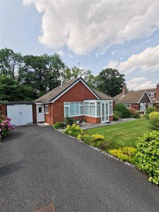 Thumbnail Detached bungalow for sale in Ashford Avenue, Pontesbury, Shrewsbury
